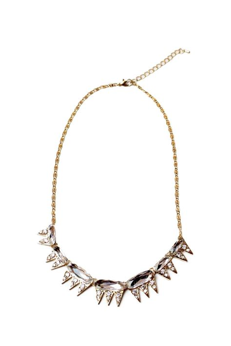 carte blanche edgy spiky necklace from vancouver shoptiques
