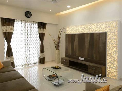 corian tv unit jaali concepts