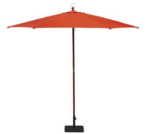Patio Umbrellas Kmart Essential Garden Market Umbrella Orange 9ft Outdoor Living Patio Furniture Patio