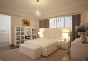 White bedroom design chandelier library modern olpos design