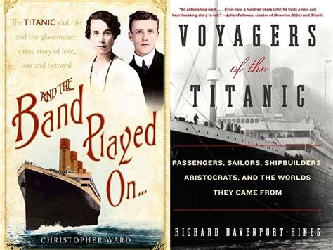 rms the voyage books six riveting reads on the titanic minnesota radio