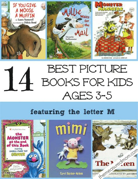 popular picture books 14 of the best picture books for ages 3 5 a letter m