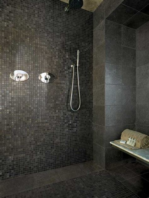 dark tile bathroom ideas bathroom designs small bathroom tile ideas brown towel