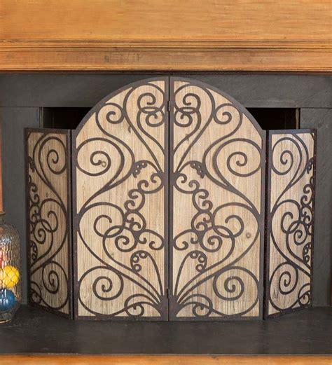 wooden fireplace screen 95 best images about fireside favorites on