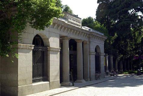 entrada jardin botanico madrid entrada principal del real jard 237 n bot 225 nico situada en la