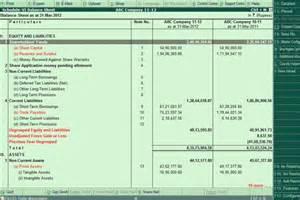 Balance Sheet Format Schedule 6 by Schedule Vi Balance Sheet