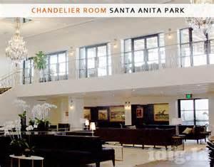 santa race track chandelier room morningstar sanguinetti pop up at santa for