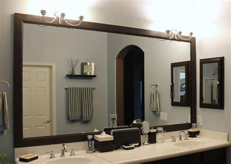 mirror trim ideas  pinterest diy framed