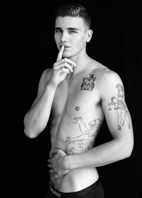 lean tattoo matt mcglone by gregory vauhan via http dailymalemodels