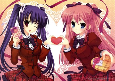 anime valentines day valentines day anime wallpapers hd high