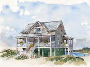 Beach Cottage Plans by Raised Beach House Floor Plans House Design Plans