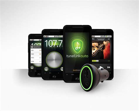 fm transmitter for android tunelink car fm transmitter now offering android support softpedia