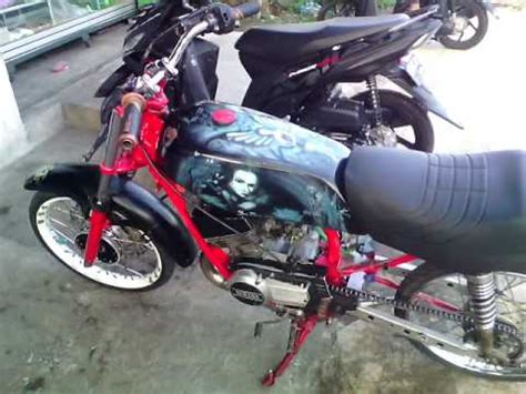 Modif Rx King Terkeren by Modifikasi Motor Rx King Airbrush Terkeren Velg Dbs Ring