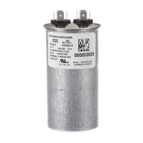 run capacitor what is it manitowoc run capacitor 440 vac part 000000028