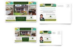 open house postcard template real estate flyers postcards to sell your property