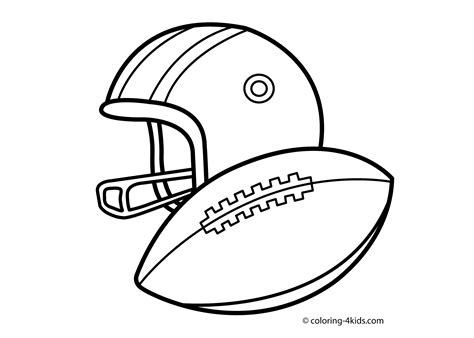 Free Coloring Free Printable Football Coloring Pages Printable Football Coloring Pages
