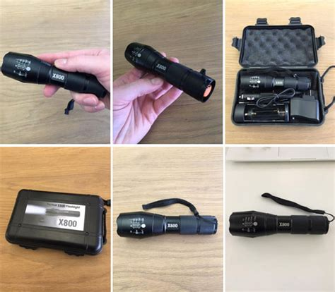 Tac Light Review by Shadowhawk Tactical X800 Flashlight Review Worth Buying