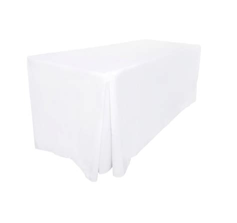 fitted tablecloths table cloths wedding white black