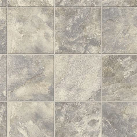 vinyl flooring no pattern trafficmaster neutral square slate 12 ft wide x your
