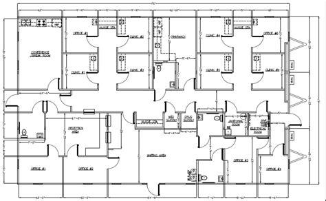 medical office floor plans wilkins builders modular buildings healthcare and medical