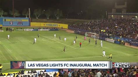 las vegas lights fc las vegas lights drop their inaugural match still a hit