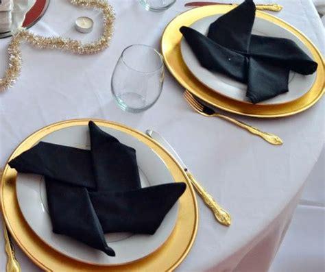Hochzeitsdeko Wei Gold by Tischdeko In Schwarz Gold Alle Guten Ideen 252 Ber Die Ehe