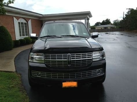 auto air conditioning service 2009 lincoln navigator l electronic toll collection purchase used 2009 lincoln navigator l limousine limo hearse funeral in depew new york united