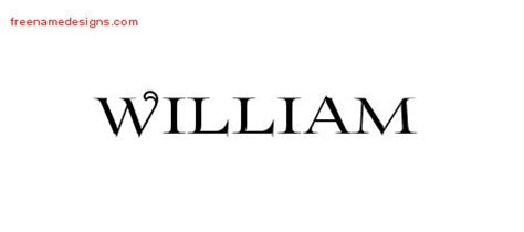 tattoo ideas for the name william flourishes name tattoo designs william graphic download