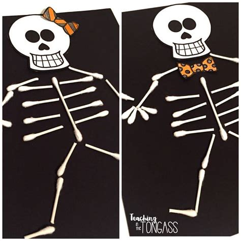 q tip skeleton template 25 unique q tip ideas on skeleton craft