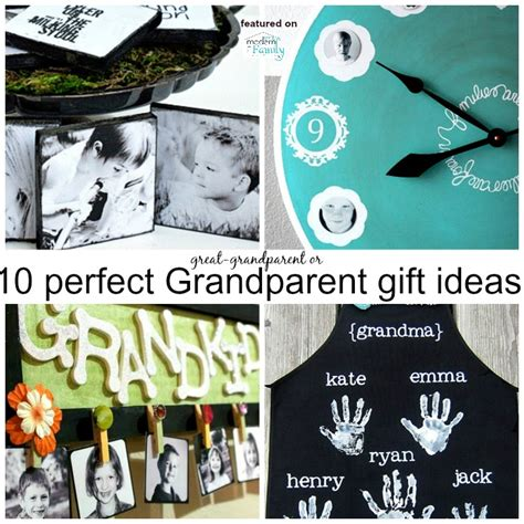 Handmade Grandparent Gifts - 10 gifts for grandparents