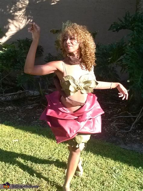 mother natures daughter costume diy tutorial