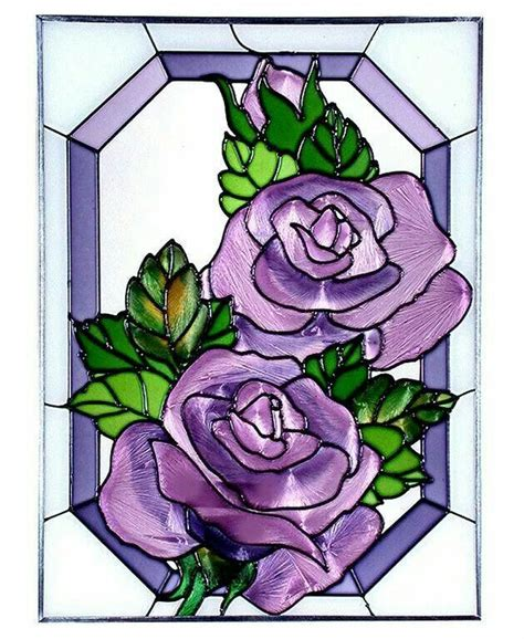 Stained Glass Purple 132 best images about dolls house printables doors