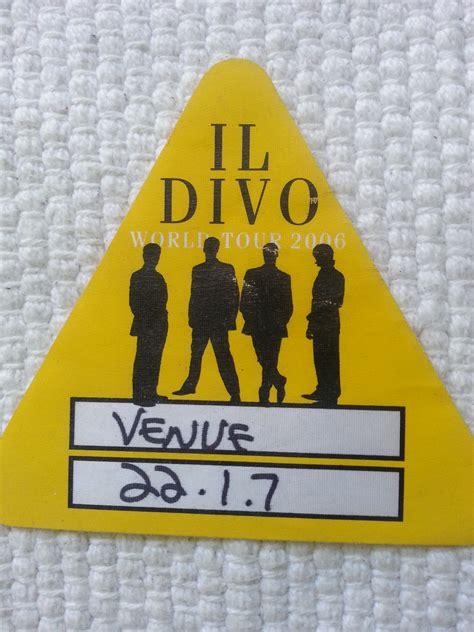 il divo tour dates il divo