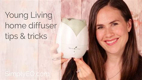 young living home diffuser tips tricks youtube