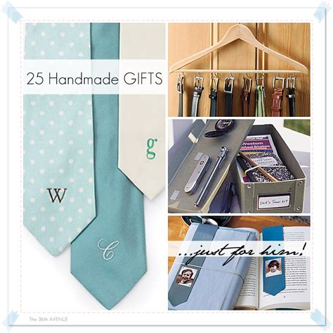 Handmade Gifts Tutorials - 21 handmade gifts for the 36th avenue