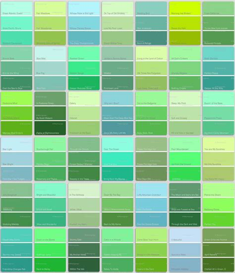 list of green colors teal color names s shades szukaj w google turquoise and