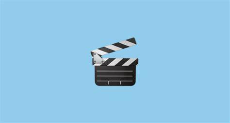 film clapper board emoji clapper board emoji
