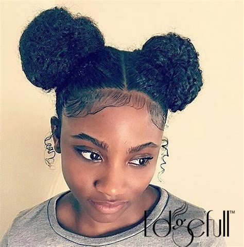 thin relaxed hair around ear 532 best natural black hair styles images on pinterest