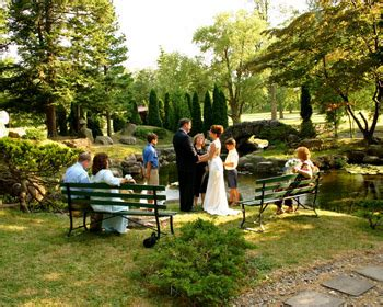 very small backyard wedding small garden wedding ceremonies in canandaigua ny at