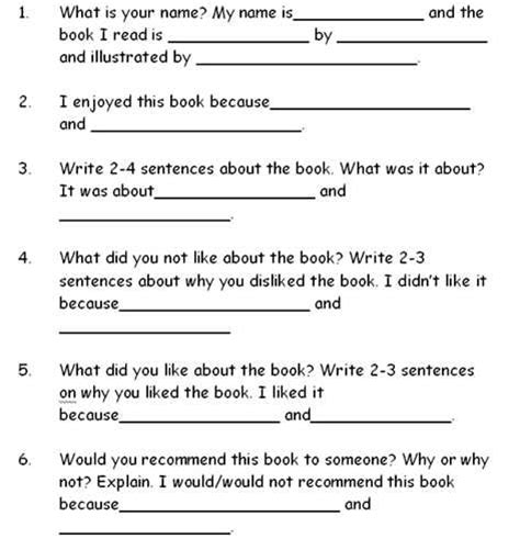 book report on catching preparing to write a book review