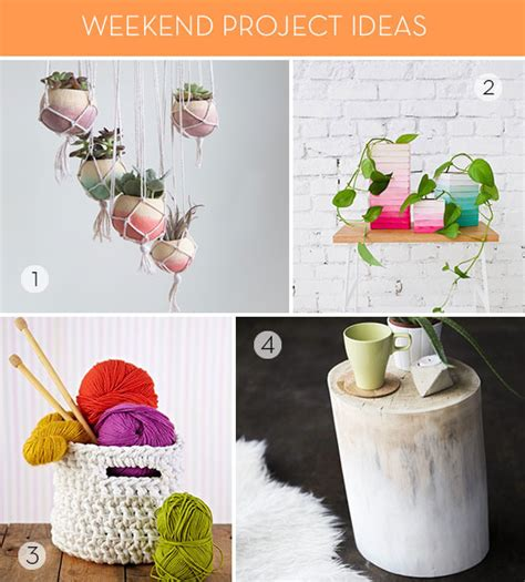 diy project ideas 7 diy project ideas for your weekend 187 curbly diy design