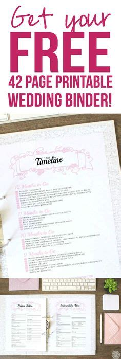 Free Instagram Wedding Printables Insert Your Hashtag And They Personalize It And Email It To Free Printable Wedding Binder Templates
