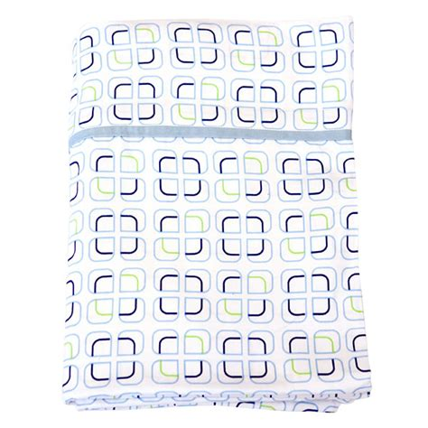 Baby Fitting Shape Geo habitat baby geo cot fitted set cube sustainababy