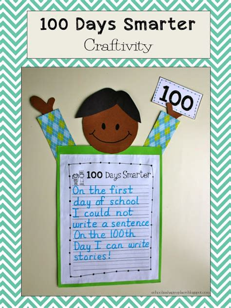 can you be happy for 100 days in a row the 100happydays challenge books school is a happy place 100 days smarter free craftivity