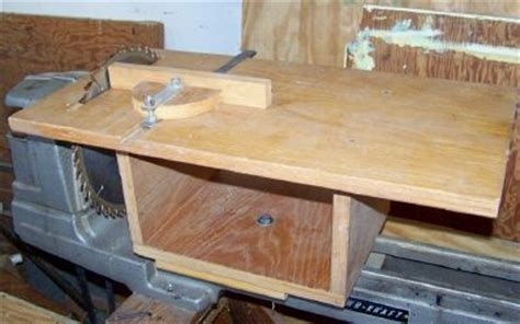 turning a circular saw to table saw home made table saws