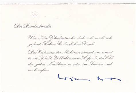Lettre De Remerciement Originale Originale Lettre De Remerciements De Bundeskanzler Willy Brandt 1972 Catawiki