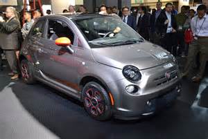 Fiat Electric Lease Chrysler Introduces Fiat 500e Electric Vehicle And 500l At