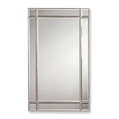 36 inch bathroom mirror valentina 22 inch x 36 inch frameless rectangular wall