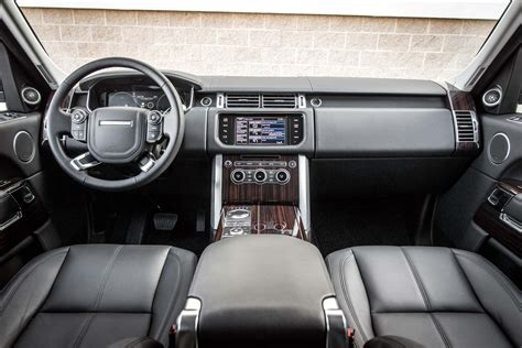 2014 Range Rover Interior Pictures by 2014 Land Rover Range Rover Interior View Photo 11