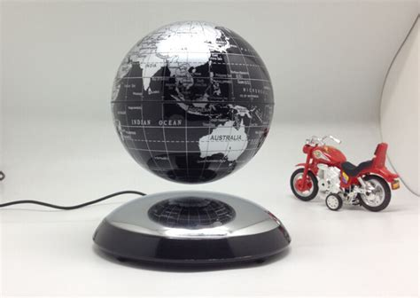 Office Desk Ornaments Magnetic Levitation Globe Creative Business Office Desk Ornaments New Magical Rotation Floating